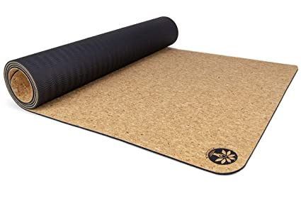 Alfombra de Yoga Corcho Yoloha Nomad, Natural: Amazon.es ...