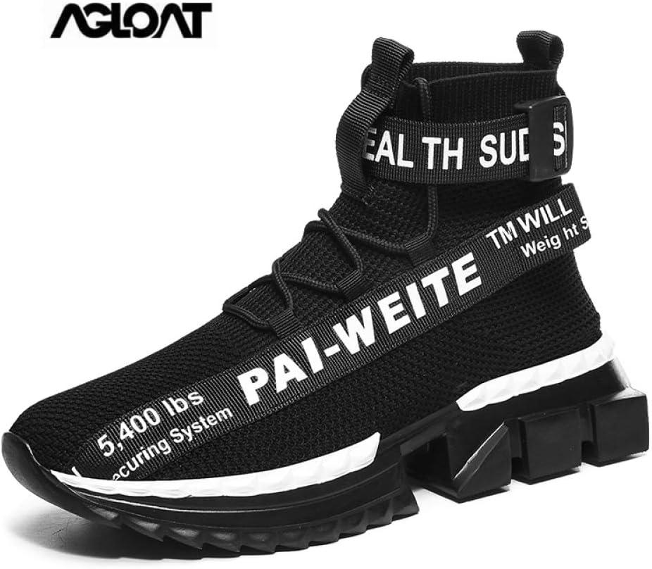 CHXY Zapatos Deportivos Mujer,Zapatos,calcetin Tobillero Hombre,Zapatillas Running Sneakers Al Aire Ligero Niño Niña Unisex,Black-45: Amazon.es: Hogar