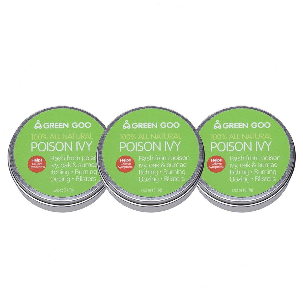 Green Goo Poison Ivy Large Tin 3 Piece, 5 46 Ounces