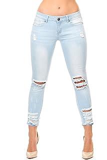7a40a834037 V.I.P. JEANS Women s 2-170368bl-3 at Amazon Women s Jeans store