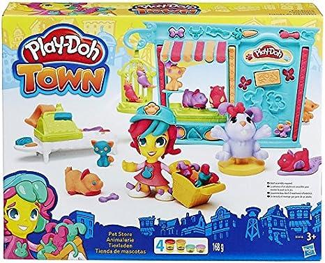 Play Doh - Kit Tienda de Mascotas (Hasbro B3418EU4)