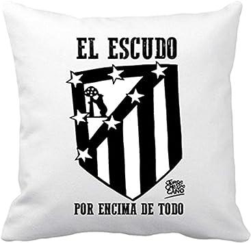 Diver Bebé Cojín con Relleno Atlético de Madrid El Escudo por ...