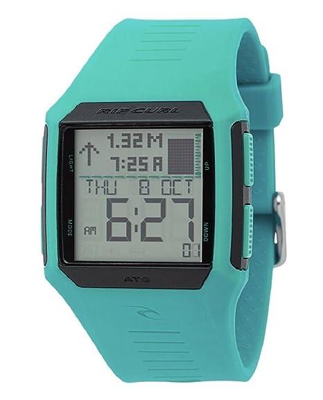 Rip Curl MAUI Mini Marea Digital Reloj de la Mujer Menta a1126g-min: Amazon.es: Relojes