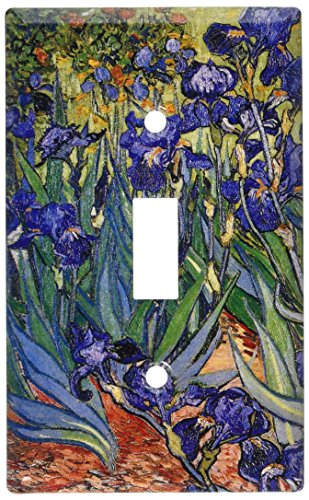 Art Plates - Van Gogh: Irises Switch Plate - Single Toggle (Art Single Toggle Switch)