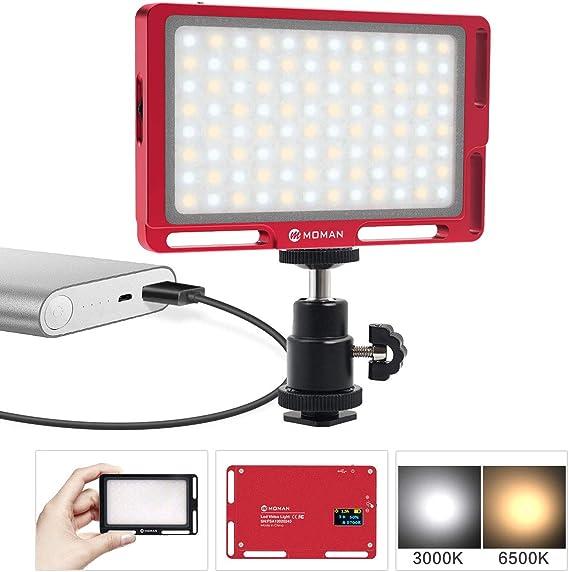 Moman On Camera Video Light for DSLR