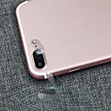 For iPhone 7 Plus 5.5 Inch, Oksale Explosion-proof Protector, Plating Tempered Glass Protective Camera Lens Hard Film (2 PCs)