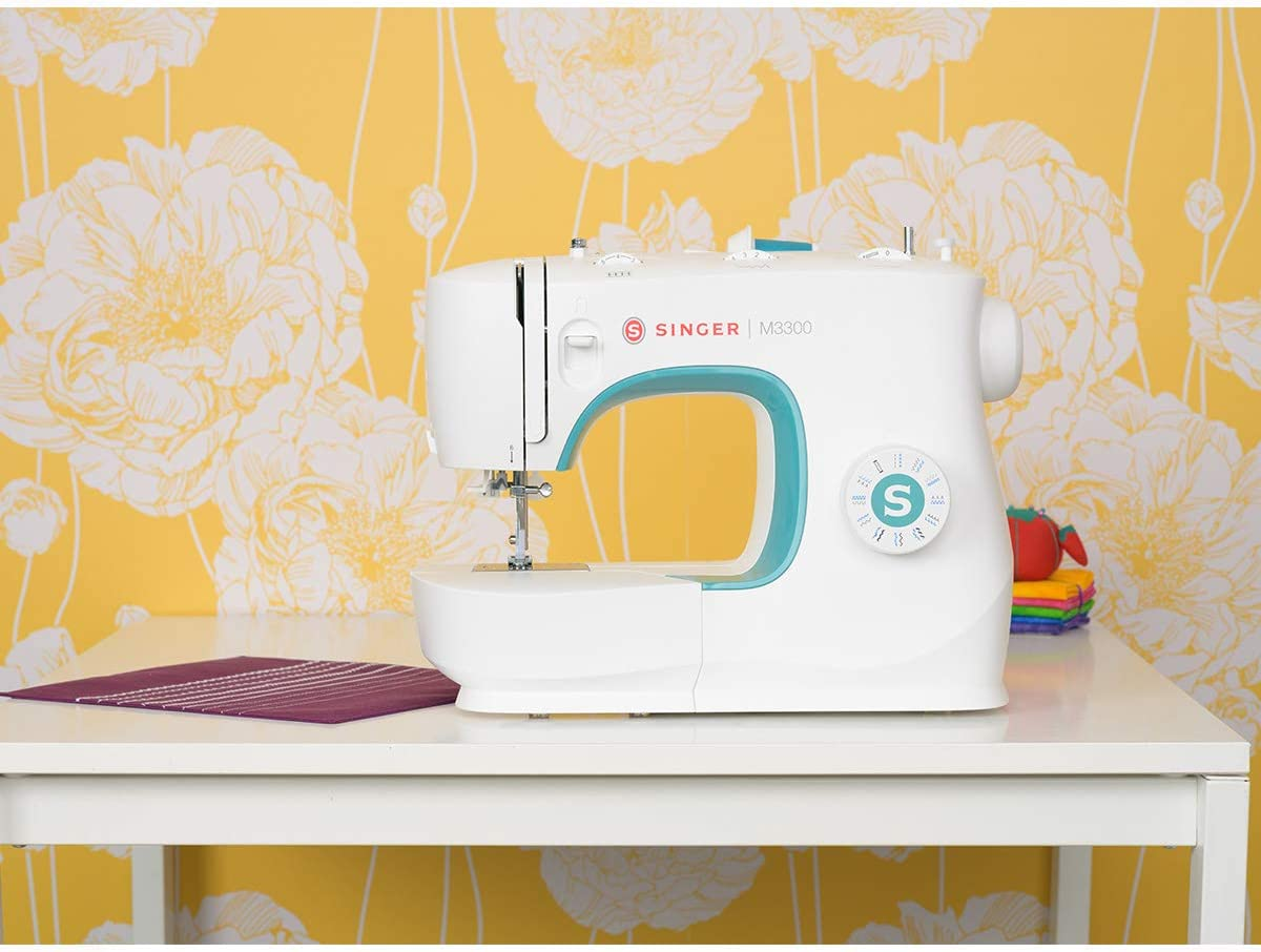 Perfect for Beginners Sewing Made Easy /& Built-In Needle Threader SINGER M3500 Sewing Machine with 32 Built-In Stitches