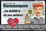 The I Love Lucy Show - Vitameatavegamin 36x24 Classic TV Art Print Poster