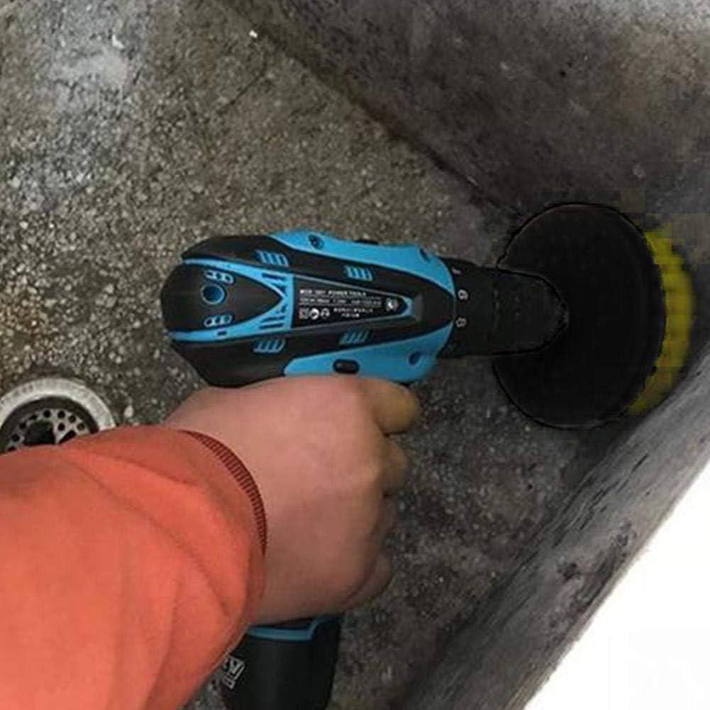 Wateralone - Cepillo Power Scrubber para Taladro eléctrico, Juego ...
