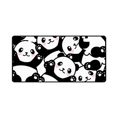 "INTERESTPRINT Cute Happy Panda Funny Animal Automotive Metal License Plate Cover, Metal Car Tag for Woman Man - 11.8"" x 6.1"": Automotive"