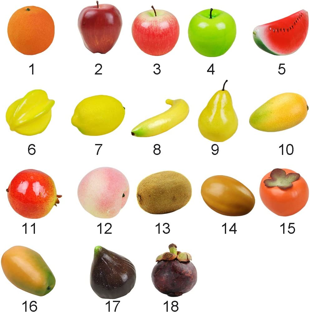 Fig Lifelike Artificial Fake Fruit Decorative Craft Home Market Party Decor