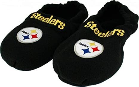 f5b7e4b987ab Pittsburgh Steelers NFL Mens Hot Footie Therapeutic Slippers Adult Sizes (M)