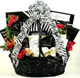 Gift Basket Village On The Wild Side Romantic Gift Basket for Her