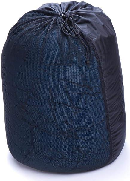 Gr/üezi-Bag Storage Bag aus Mesh-Gewebe schwarz zur unkomprimierten Aufbewahrung von Schlafs/äcken luftig und locker