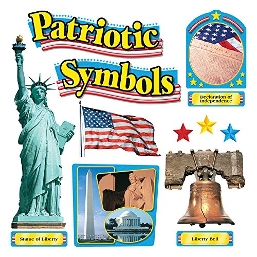 - TREND enterprises, Inc. T-8066 Patriotic Symbols Bulletin Board Set