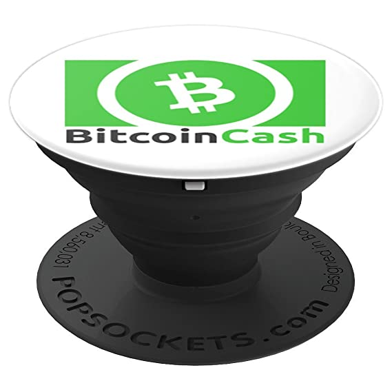 Green Logo Bitcoin Cash BCH Cryptocurrency PopSocket