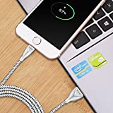BAVIN Lightning Cable Braided 3.3 Ft,iPhone