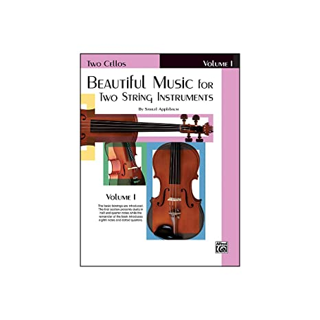 Alfred Beautiful Music for Two String Instruments Book I 2 Cellos