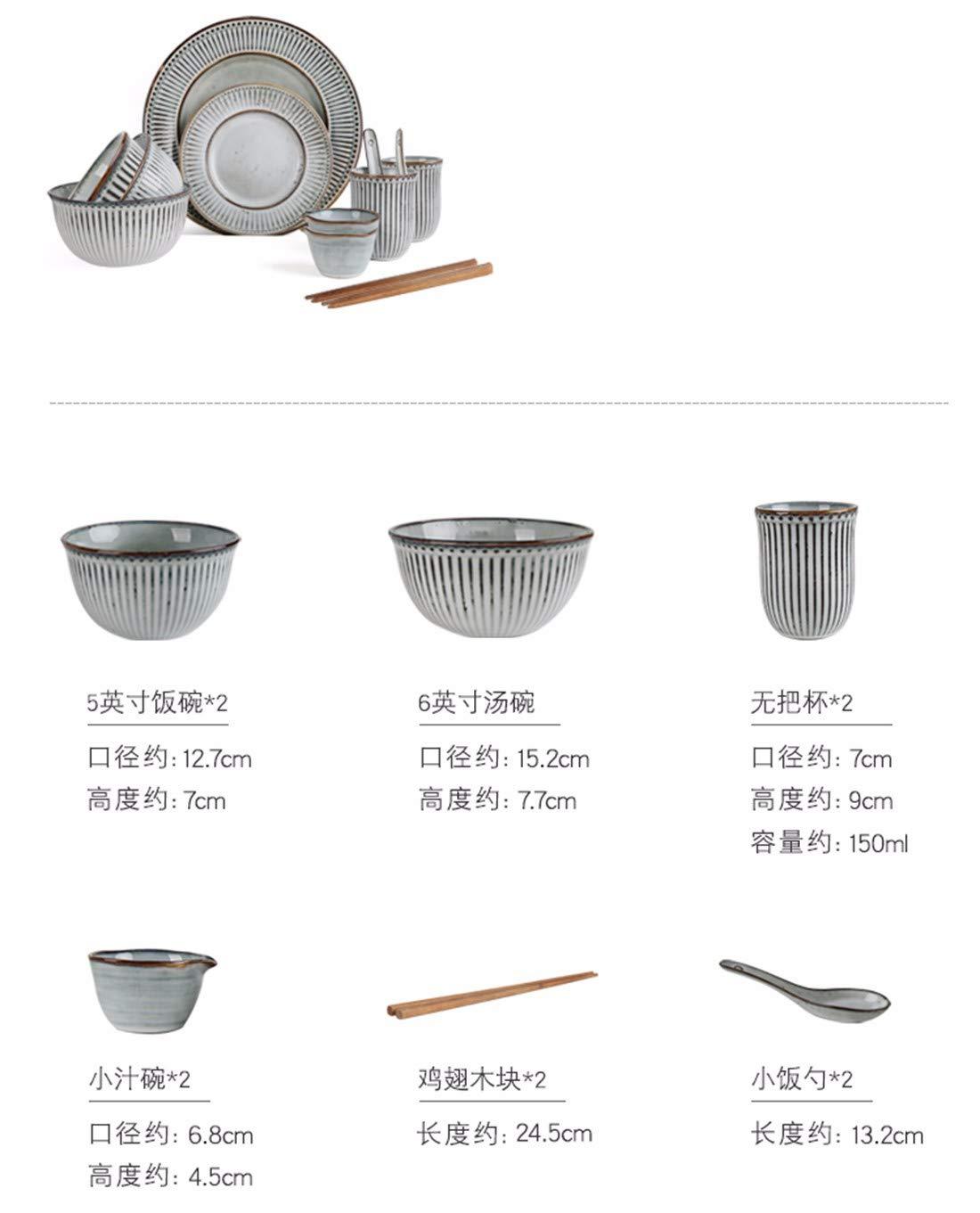 QPGGP-Platte japanische keramischen haushaltswaren und setzen der Gerichte,d