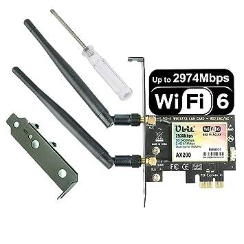 Ubit WIE8260+WIE4530+WAE3422+8111F+WIE7265 extensión de la ...