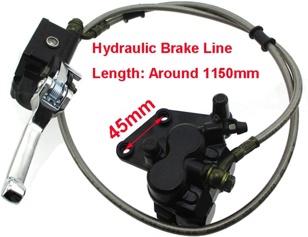 Front Hydraulic Master Brake Caliper Assy For Chinese 50cc 190cc Pit Dirt Bike