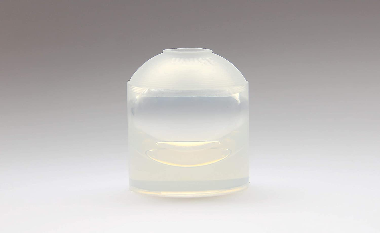 Molde claro de la esfera del silicón para la bola de la resina para la joyería DIY. HQ transparente de vacío de silicona. (35 mm): Amazon.es: Hogar