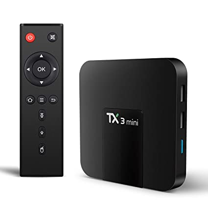 TX3 Mini Android 7 1 TV BOX 2GB/16GB 4K TV Amlogic S905W Quad core H 265  Decoding 2 4GHz WiFi TV BOX