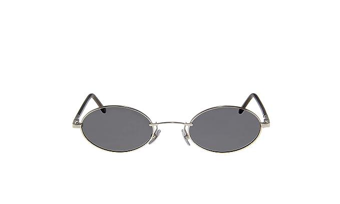 Amazon.com: KAIZER Gafas de sol ovaladas retro hechas a mano ...