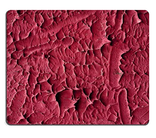Luxlady Mouse Pad Natural Rubber Mousepad IMAGE ID 31075273 abstract shocking pink stucco wall (Shocking Pink Anime)