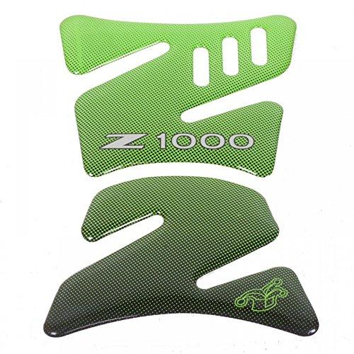 Protection de réservoir adhésive Mad couleur vert moto Kawasaki Z1000 Neuf
