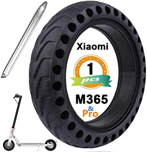 Cooryda Solid Tire Replacement for Electric Scooter Xiaomi Mi m365 / gotrax gxl V2, 8.5 inches Scooter Wheel's Replacement Explosion-Proof Solid Tire, Tires & Accessories