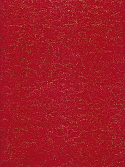 Red//Gold Pack of 20 Decopatch 300mm x 400mm Crackle Pattern Loose Sheets