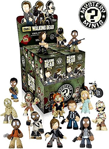 The Walking Dead Mystery Minis Series 4 Set of 12