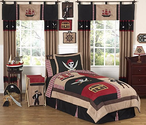 Jake's Soft Pirate Sword (Treasure Cove Pirate Childrens 4 Piece Boys Twin Bedding Set)