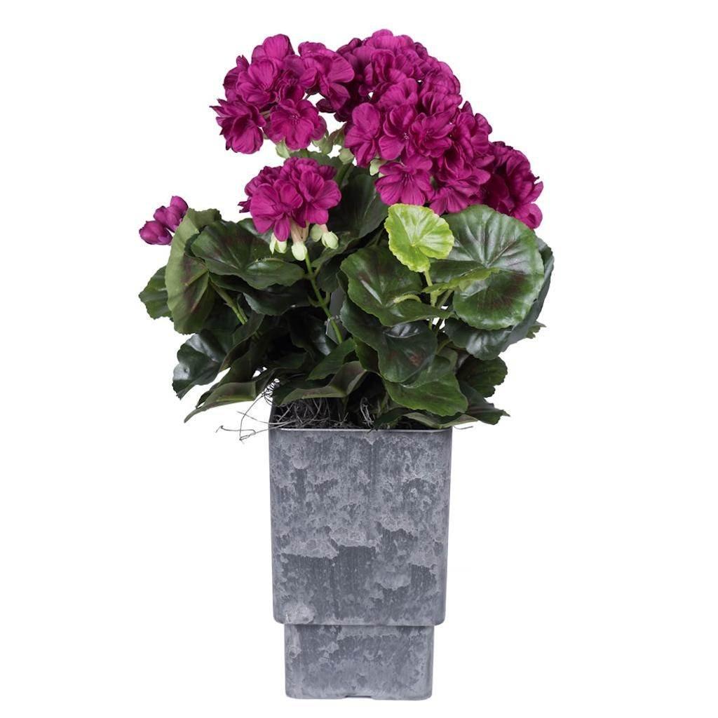Vickerman F12220 Purple Geranium Everyday Floral by Vickerman