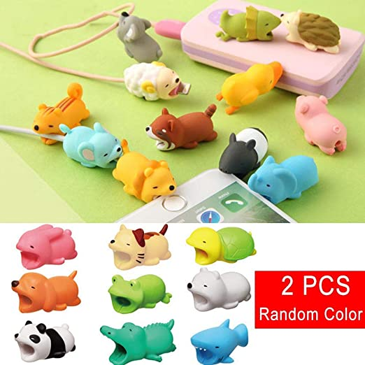 Crewell Cable Protector Cute Animal Shape Protect Prevents ...