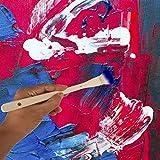 KEILEOHO Flat Hake Brushes, Creative and