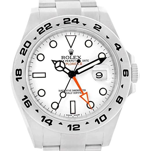 Rolex Explorer II Automatic-Self-Wind 216570 - Reloj Masculino (Certificado de autenticidad