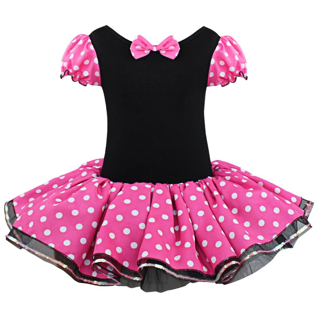 Tiaobug Mädchen Kinder Kostüm Halloween Weihnachten Ballettkleid ...