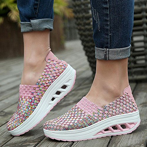 Basse Estive Sneakers Da Scarpe Casual Zeppa luo Tennis Sneaker Sportive Beauty Outdoor D Ginnastica Donna Running qawzCxH
