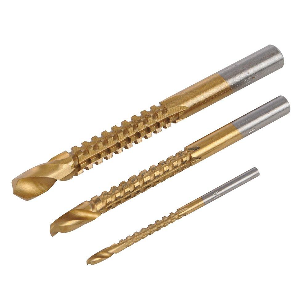 Silverline 199872 3 forets à limer et couper 3, 6 et 8 mm