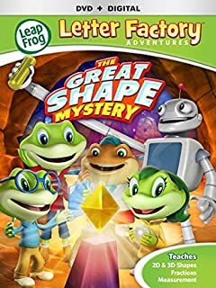 leapfrog letter factory adventures great shape mystery dvd digital