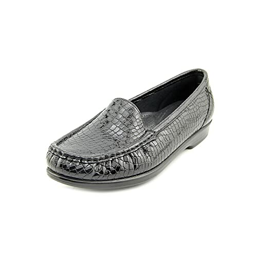 SAS Simplify Mujer Grande Piel Mocasines Zapatos Talla: Amazon.es: Zapatos y complementos