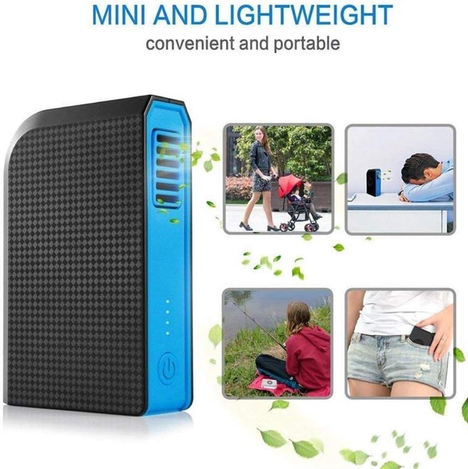 Mini Fan Portable Desktop Fan Small Personal Fan 6000mAh Mini Handheld USB Desk Fan Portable Travel Accessory Camping Gear