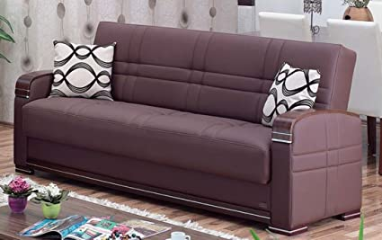 Exceptionnel BEYAN Alpine Collection Living Room Convertible Folding Sofa Bed With Storage  Space, Includes 2 Pillows