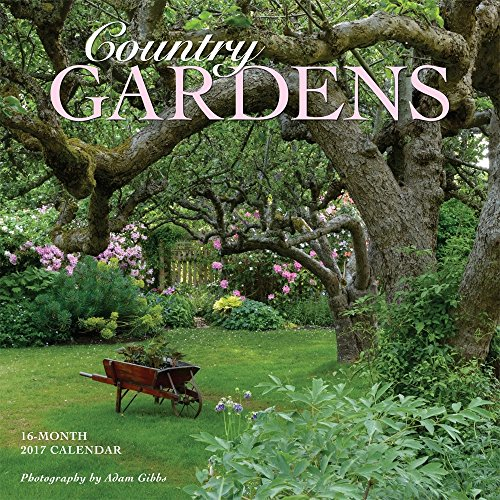 Country Gardens 2017 Wall Calendar 12