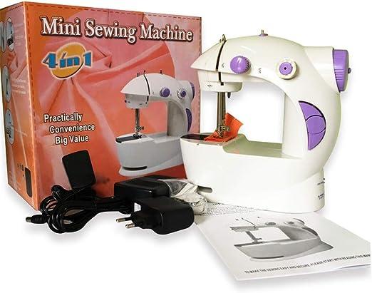 Ghpter Portatil Maquina Coser Mini máquina de Coser para el hogar ...