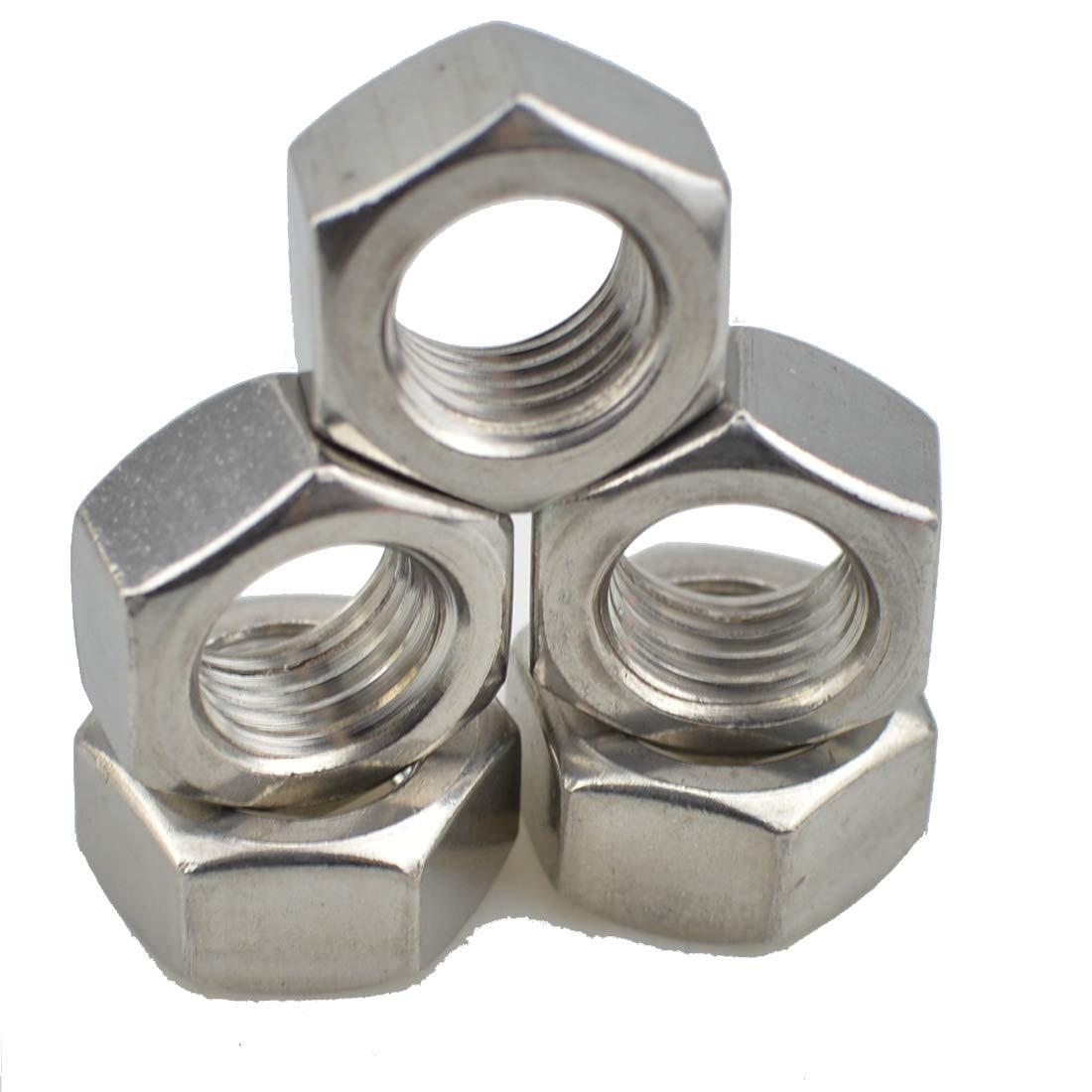 5, M16-2.0 pitch XunLiu 316 Stainless Steel Hex Nut