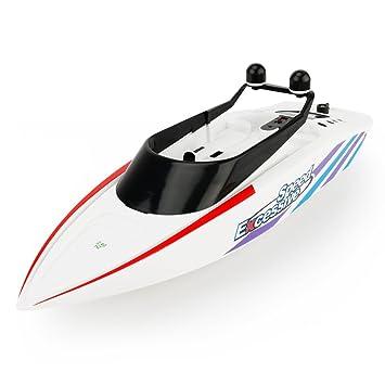 27f0fd91952cc7 Giplar RC Ferngesteuertes Mini Speedboot mit Integriertem Akku 2.4GHz  Fernbedienung Spielzeug High-Speed Racing