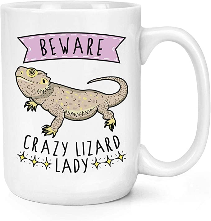 Beware Crazy Hamster Lady 10oz Mug Cup Funny Animal